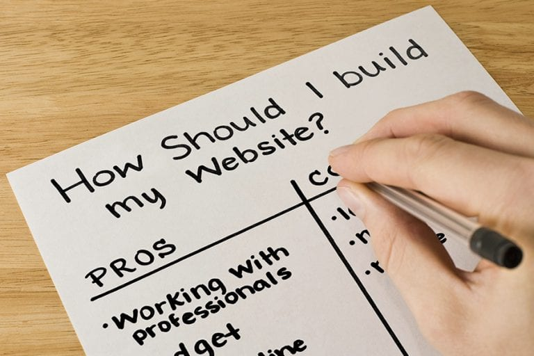 The Pros And Cons Of Building A Website Comrade Web Agency Chicago