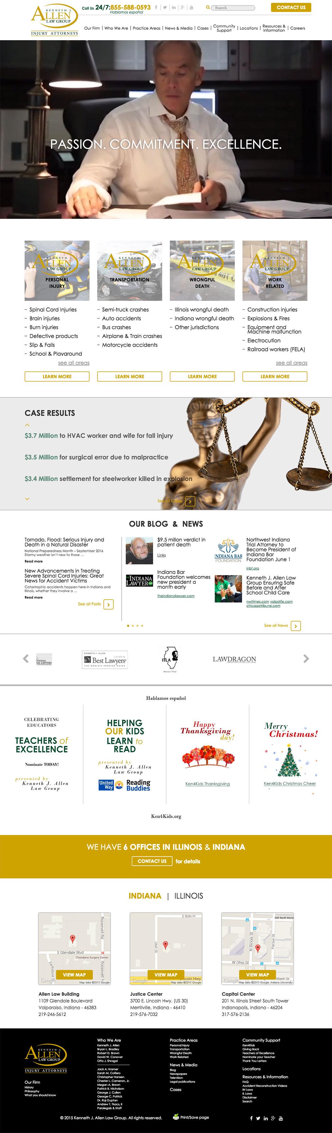 Ken Allen Law Homepage