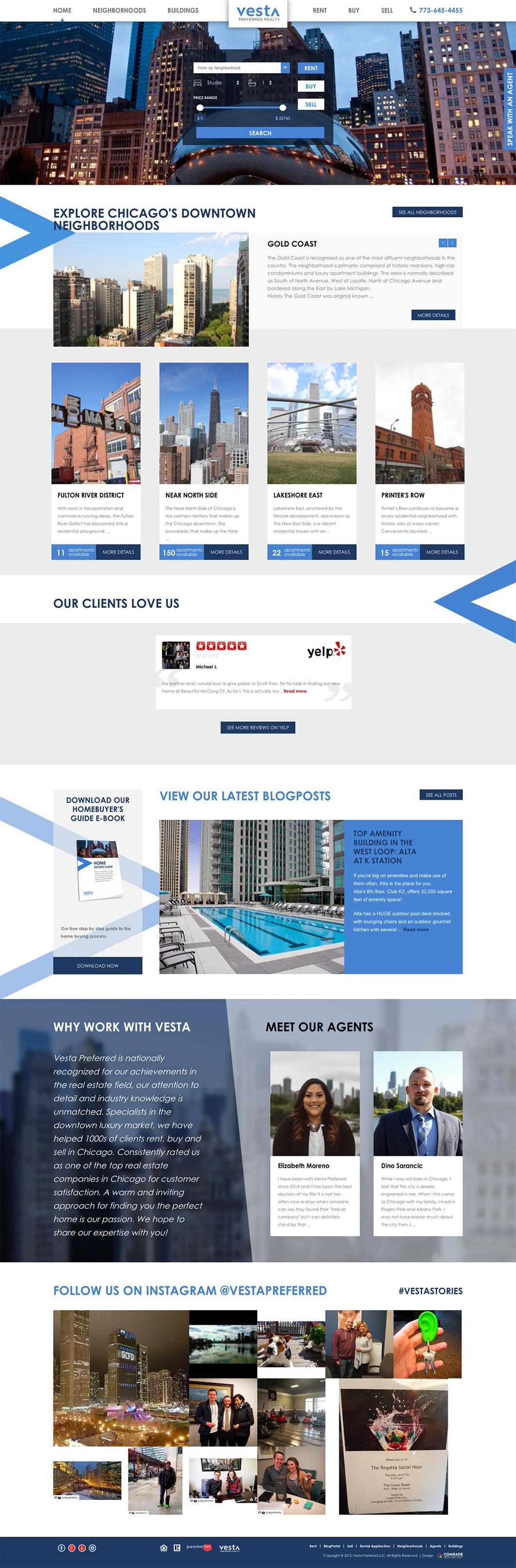 Vesta Preferred Homepage