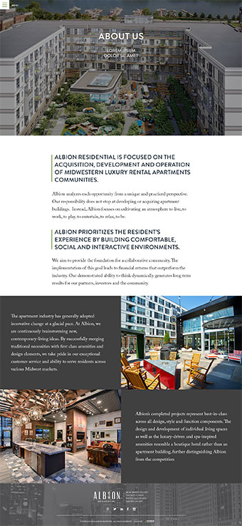 Albion Residential Image