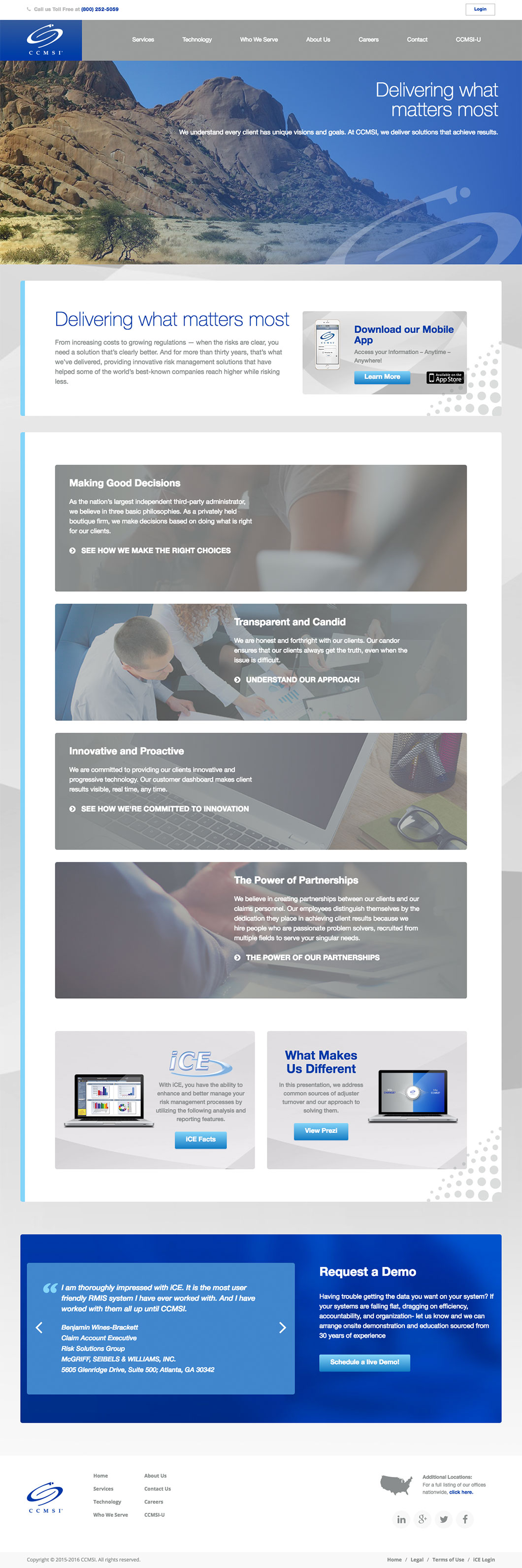 CCMSI Homepage