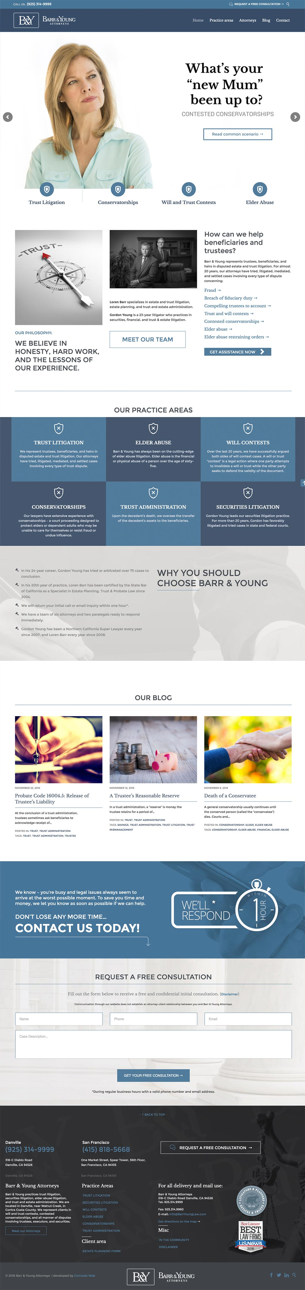 Barr & Young Attorneys Homepage