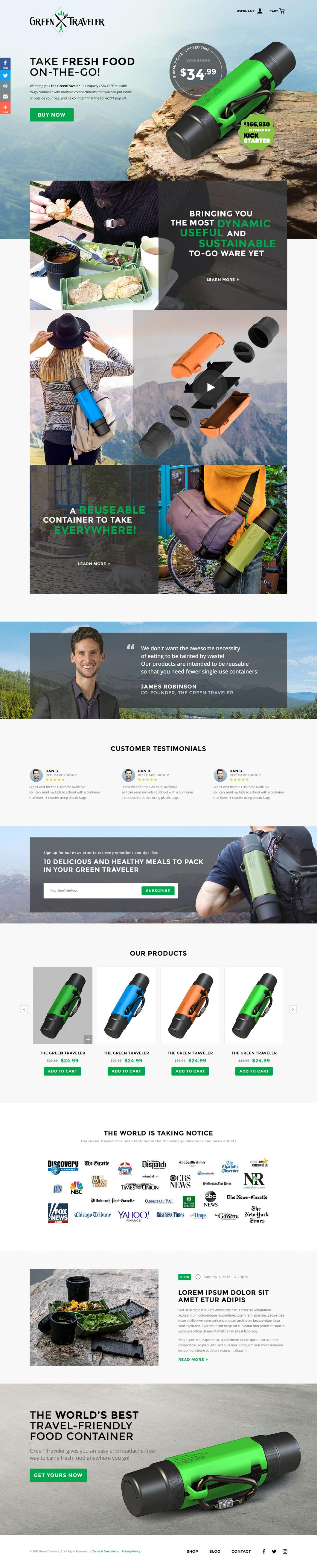 Green Traveler Homepage