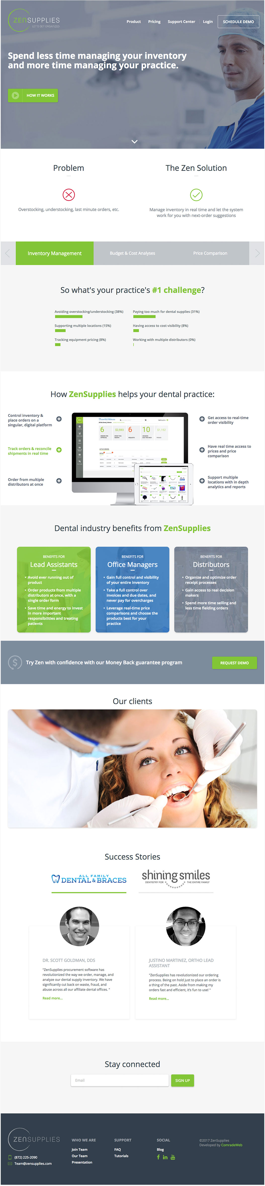 Zen Supplies Homepage