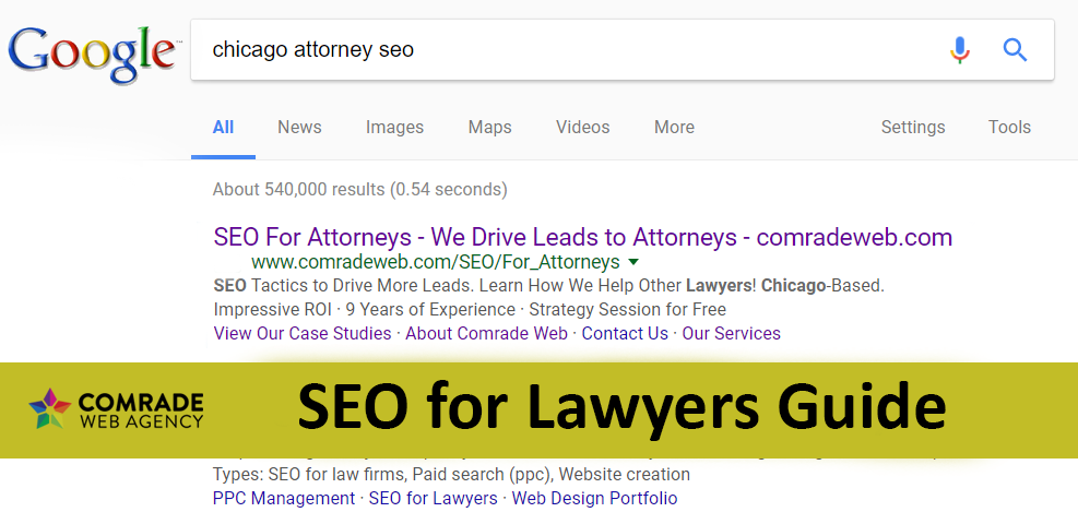 SEO for lawyers Guide