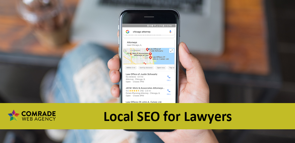 Local SEO for Lawyers Update