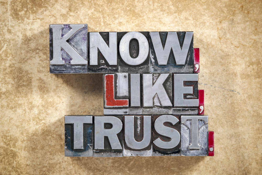 know, like, and trust