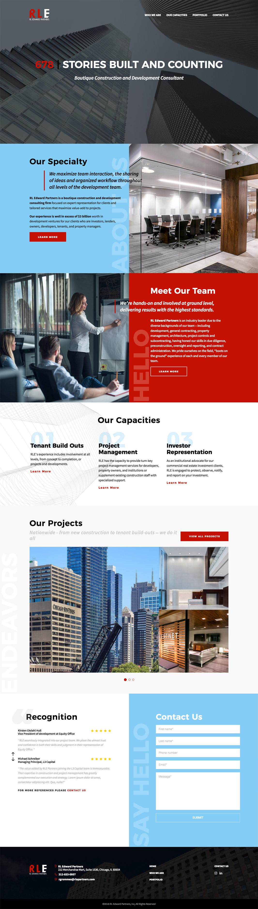 RL Edward Partners Homepage
