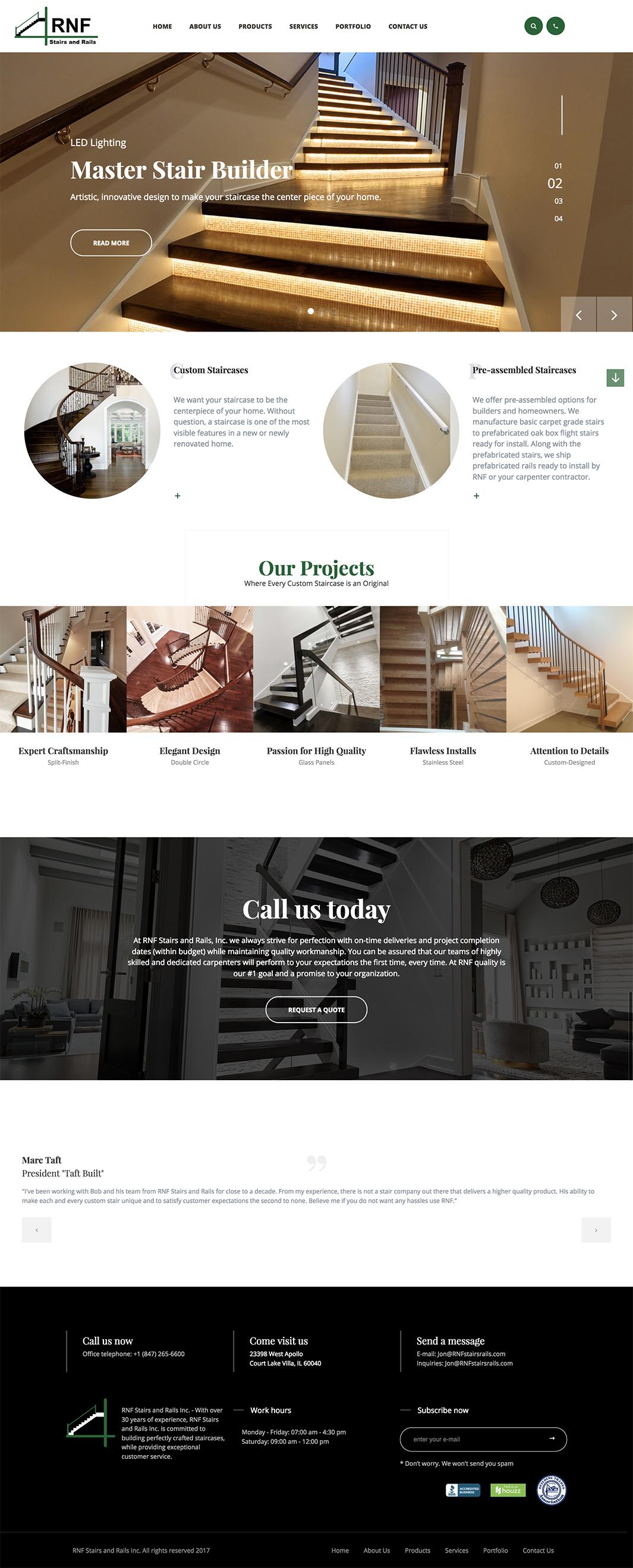 RNF Homepage