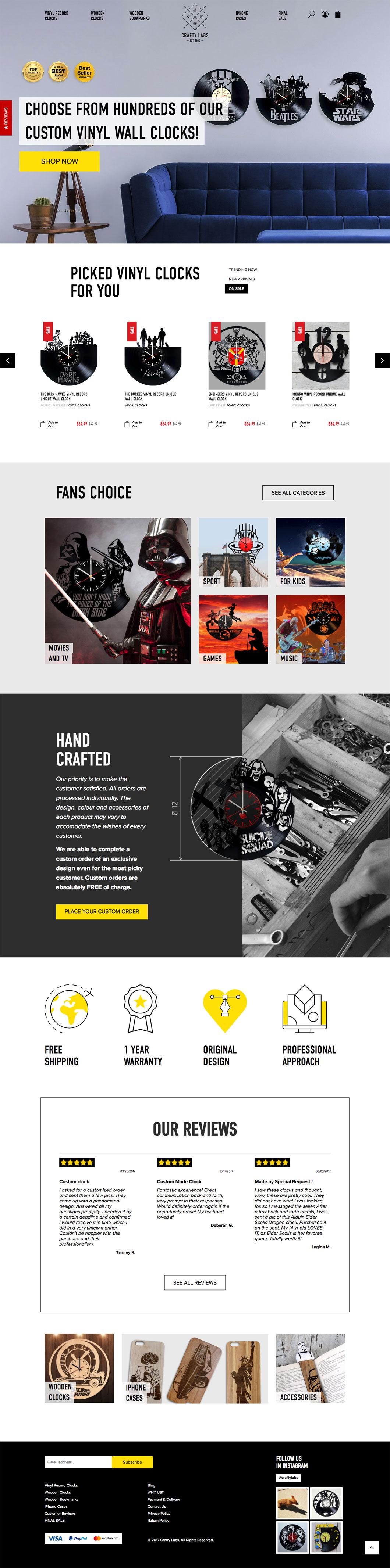 Vinyl Homepage