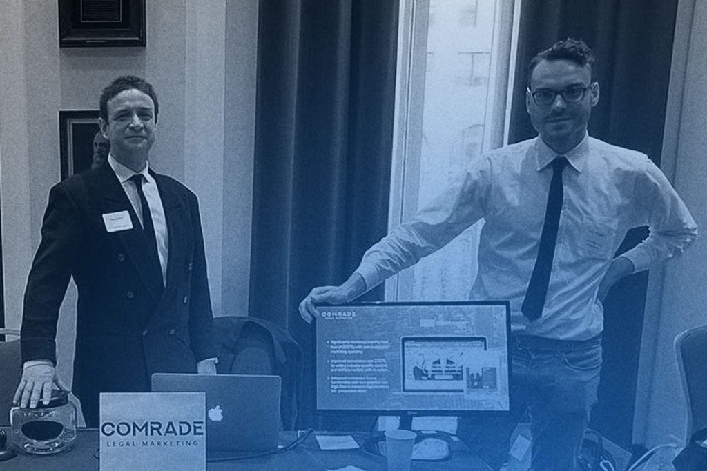 Comrade Legal Marketing Attends CBA Technology Expo
