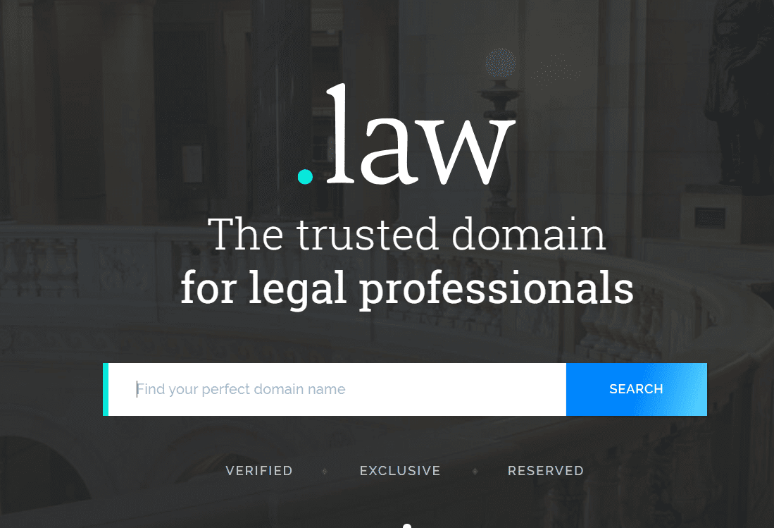 .Law Domain Name Extensions