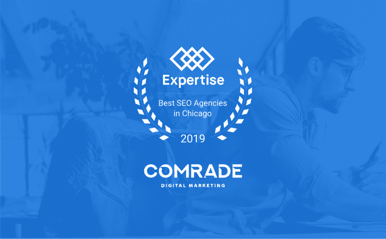 Expertise.com Names Comrade Web Agency the Top SEO Agency in Chicago