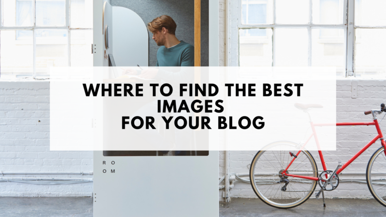 Where to Find the Best Images for Your Blog