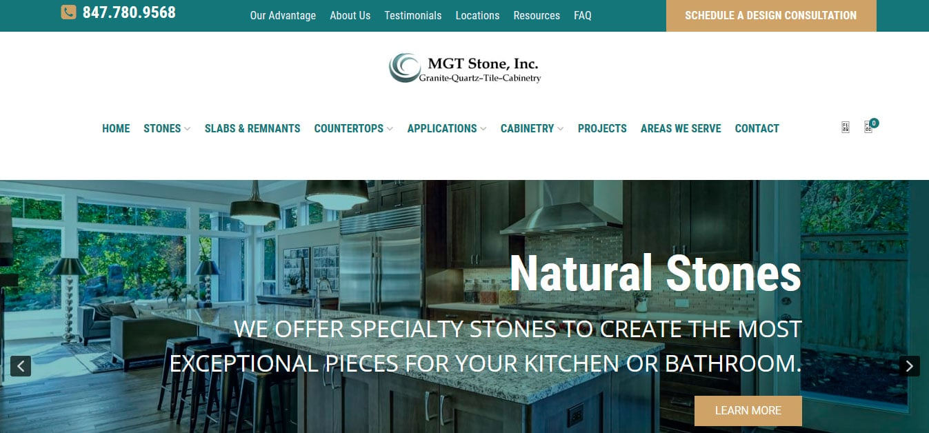 Top websites for stone shops