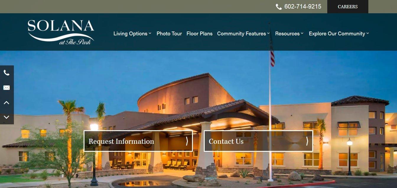 Best web design for senior living websites 2020