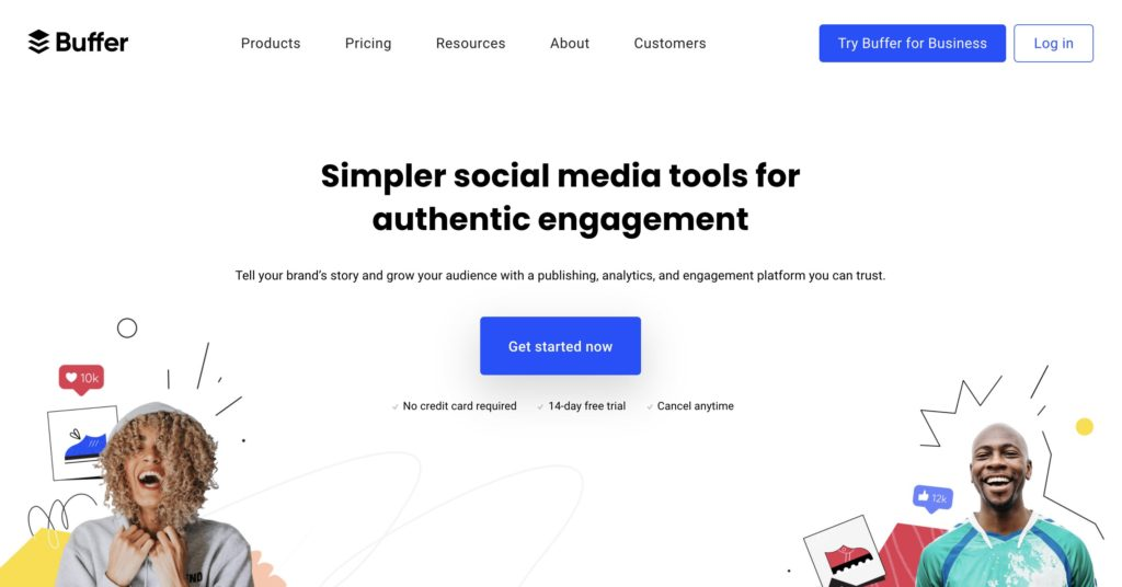Buffer Simpler social media tools