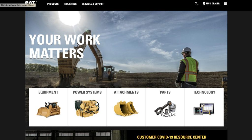 CAT Products & Services – North America | Caterpillar