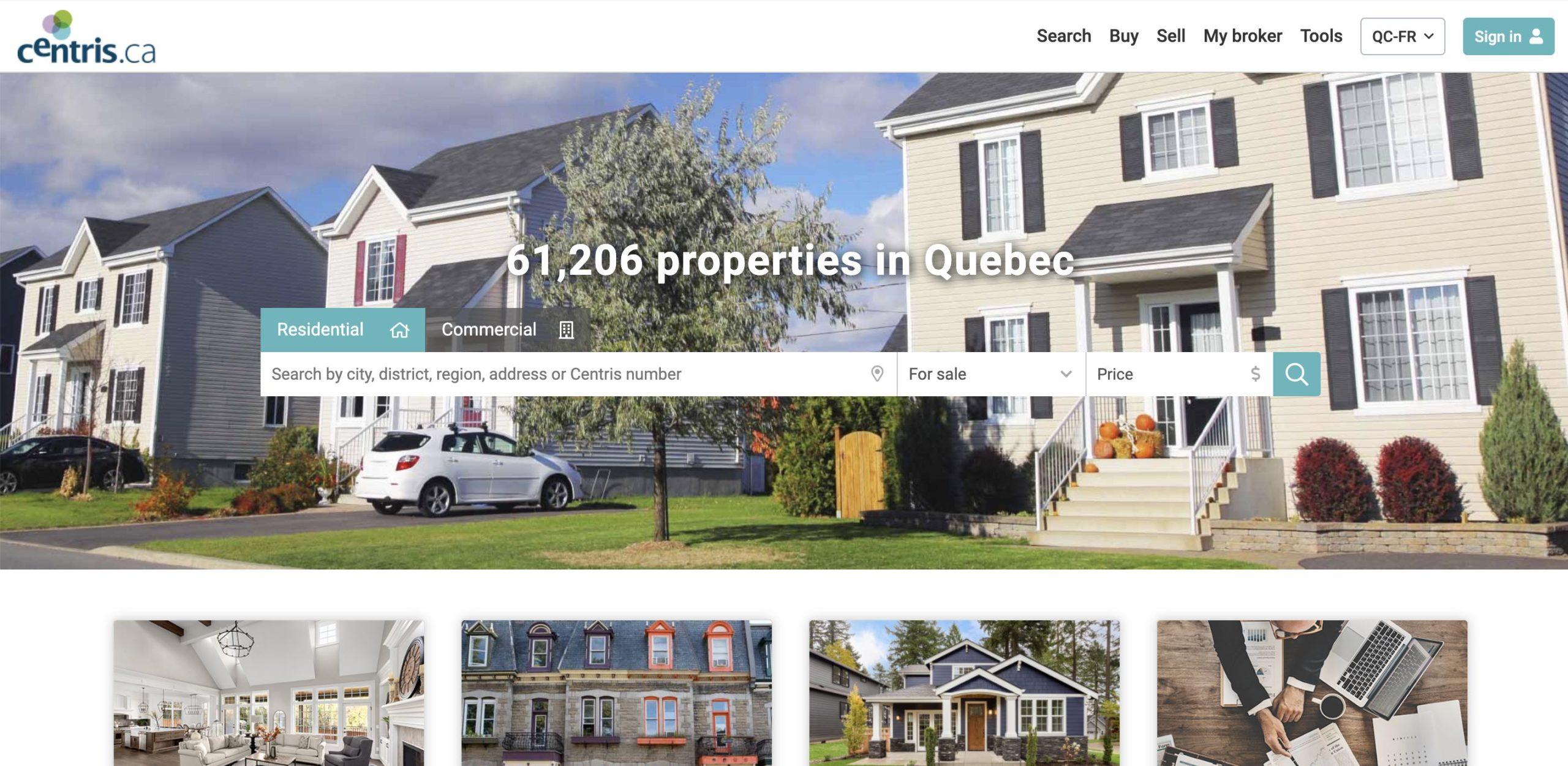 Centris.ca - Properties in Quebec