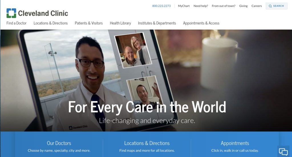 Cleveland Clinic/ Every Life Deserves World Class Care