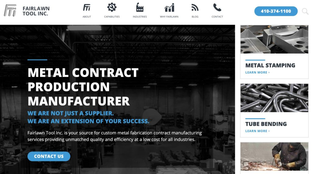 Fairlawn Metal Contract Production