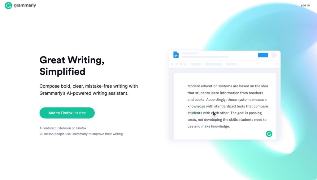 Grammarly / Free Online Writing Assistant