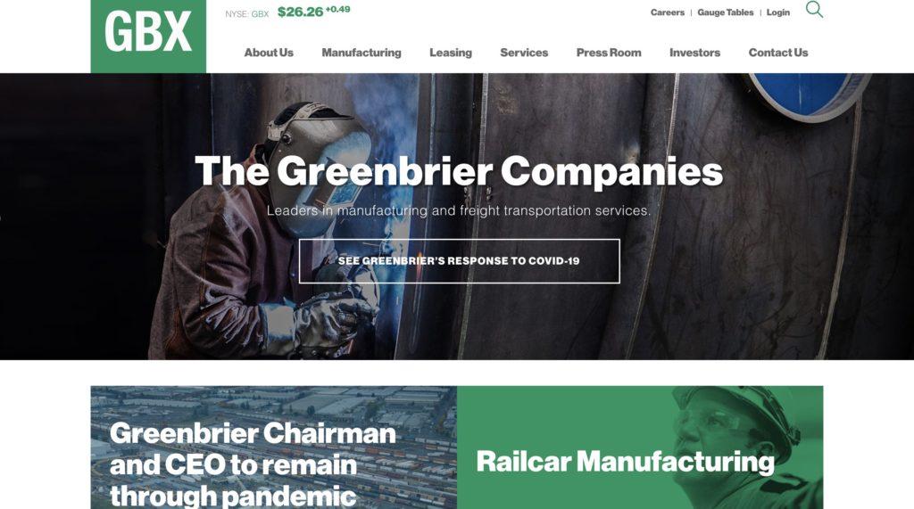 Greenbrier Integrated Railcar Manufacturer