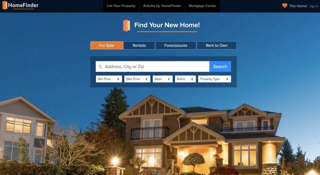HomeFinder - Real Estate, Homes for Sale, Rentals & Foreclosures |