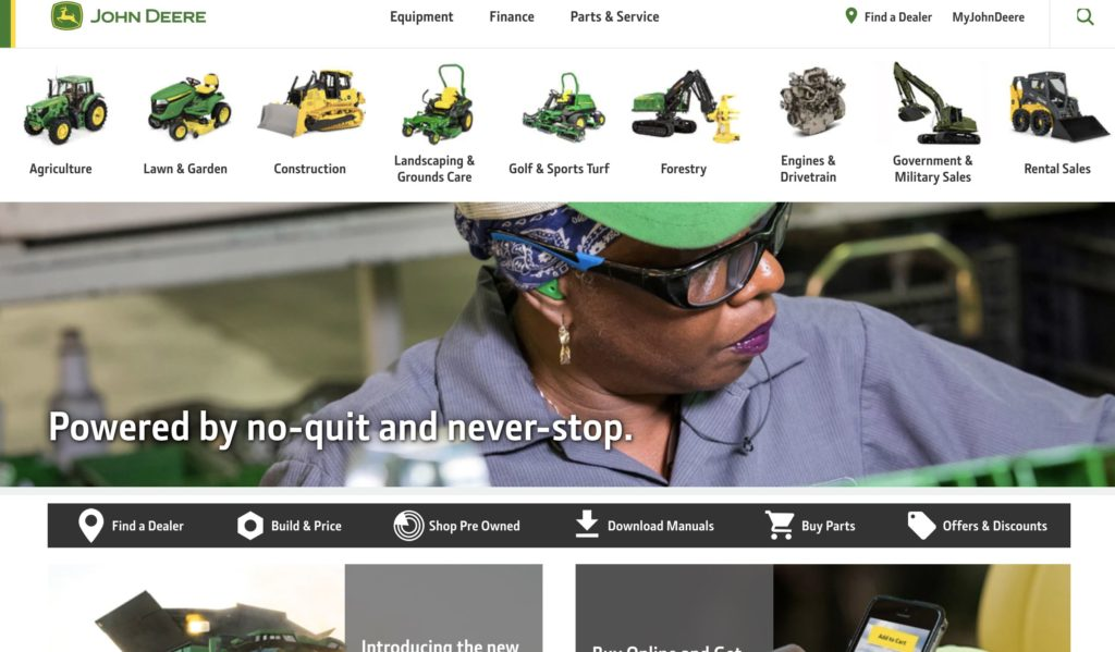John Deere Products & Services Information