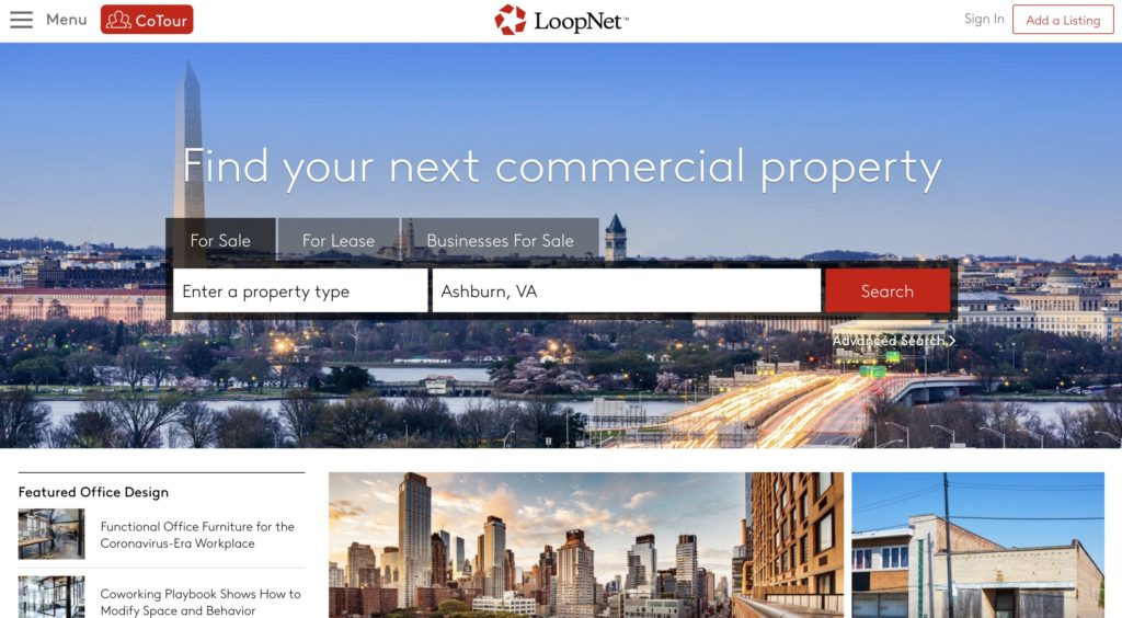 LoopNet - Commercial Real Estate For Sale and Lease