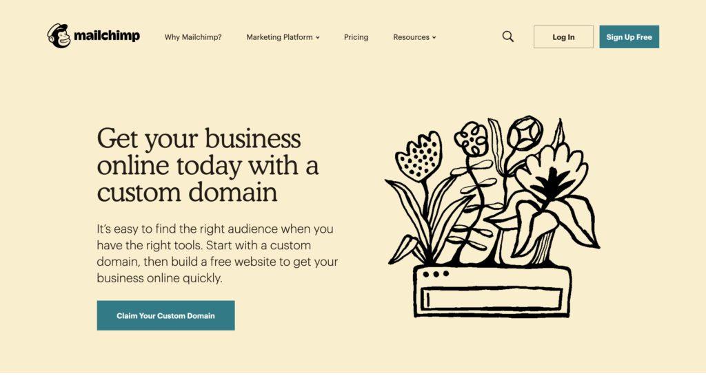 Mailchimp Integrated Marketing Platform
