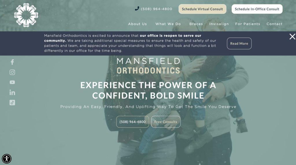 Mansfield Orthodontist Dental