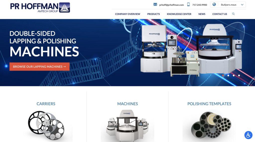 PR Hoffman Lapping & Polishing Machine Experts