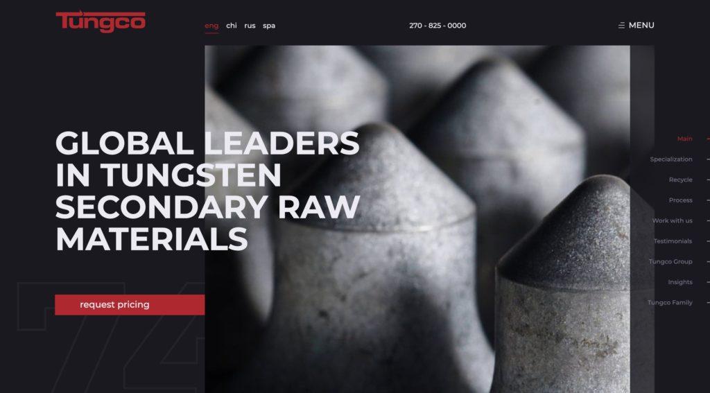 Tungco - tungsten raw materials