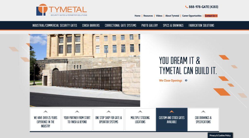 Tymetal Security Gates