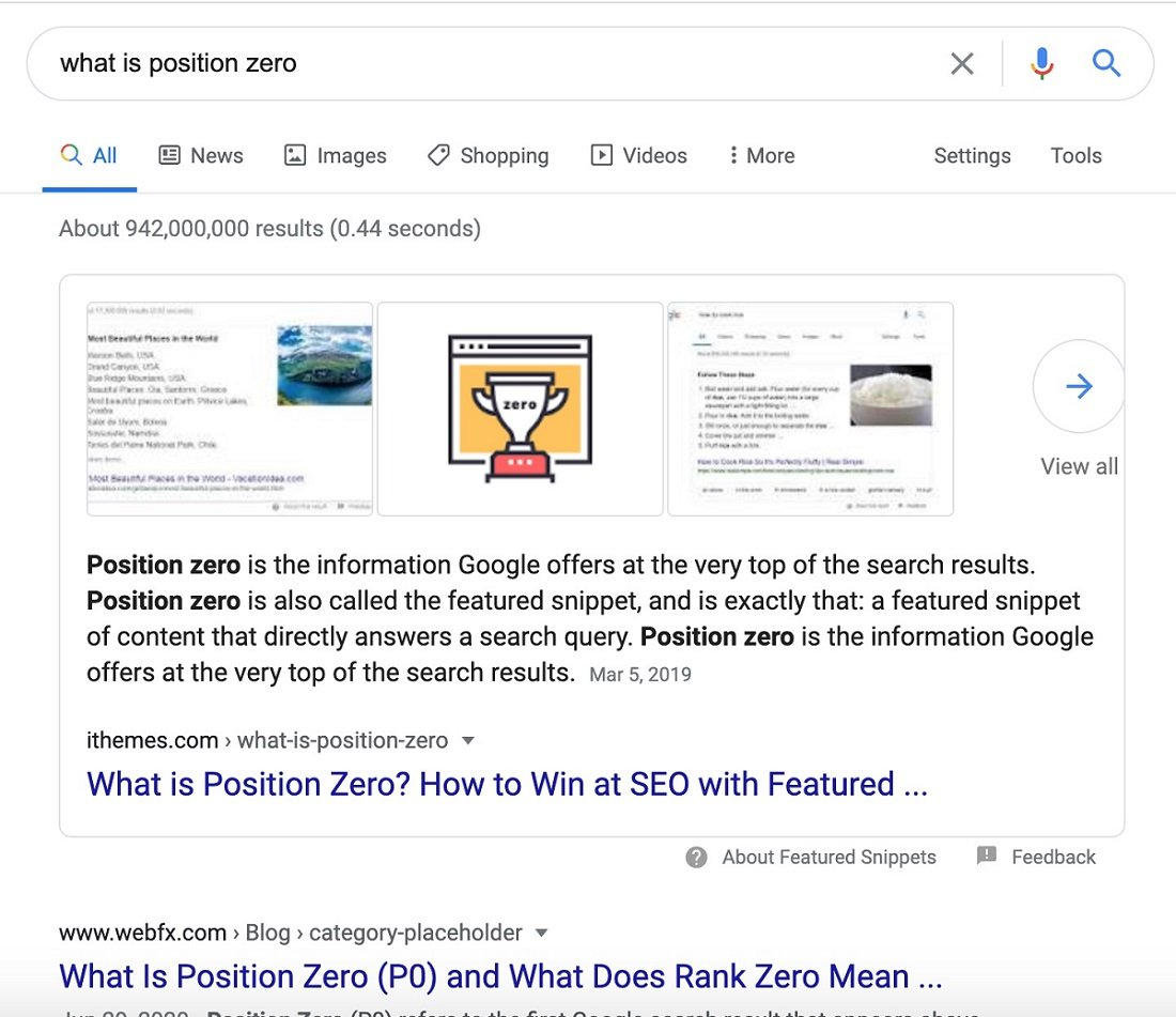 What is Position Zero