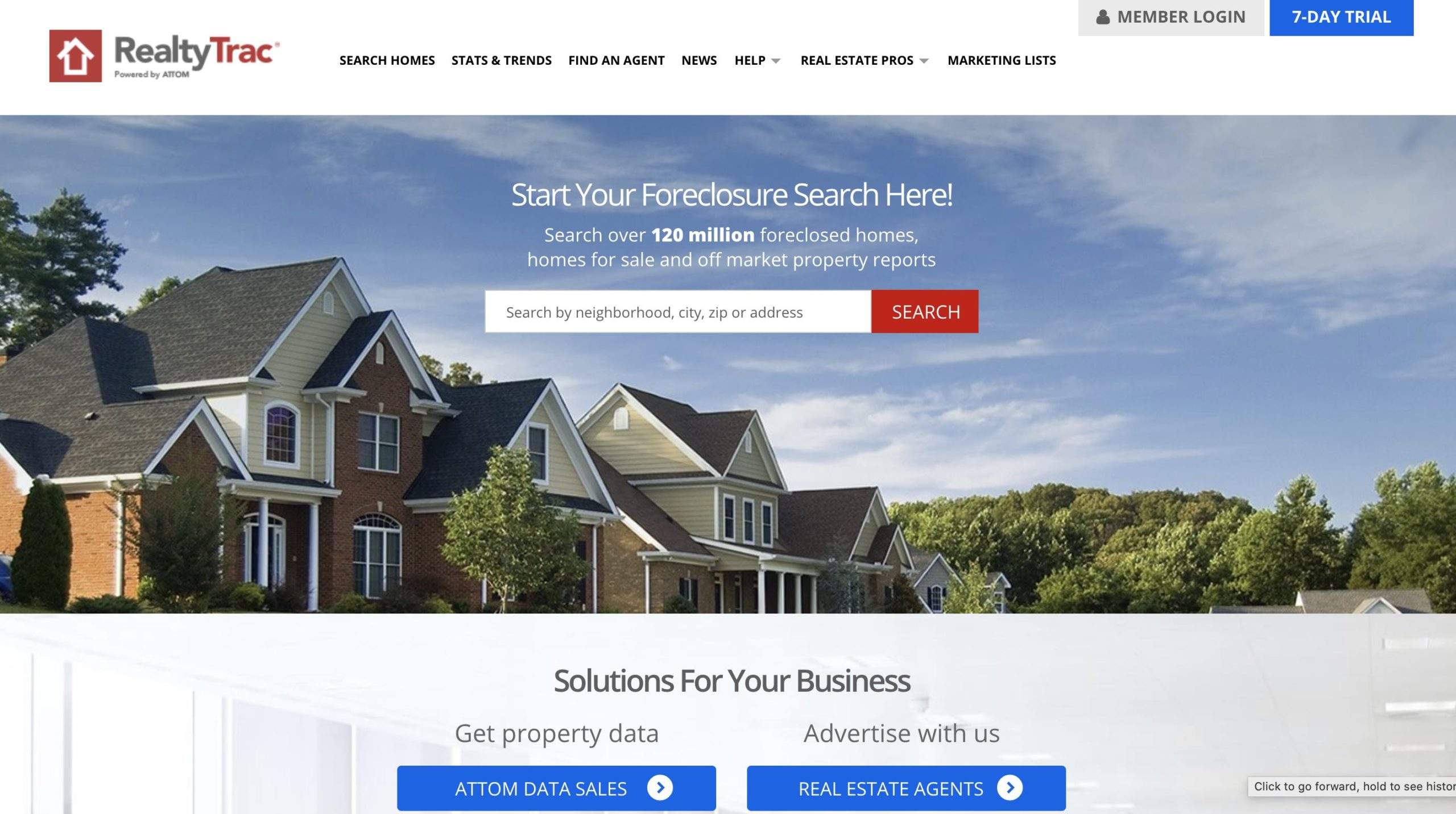 Realtytrac - Foreclosure Search Homes
