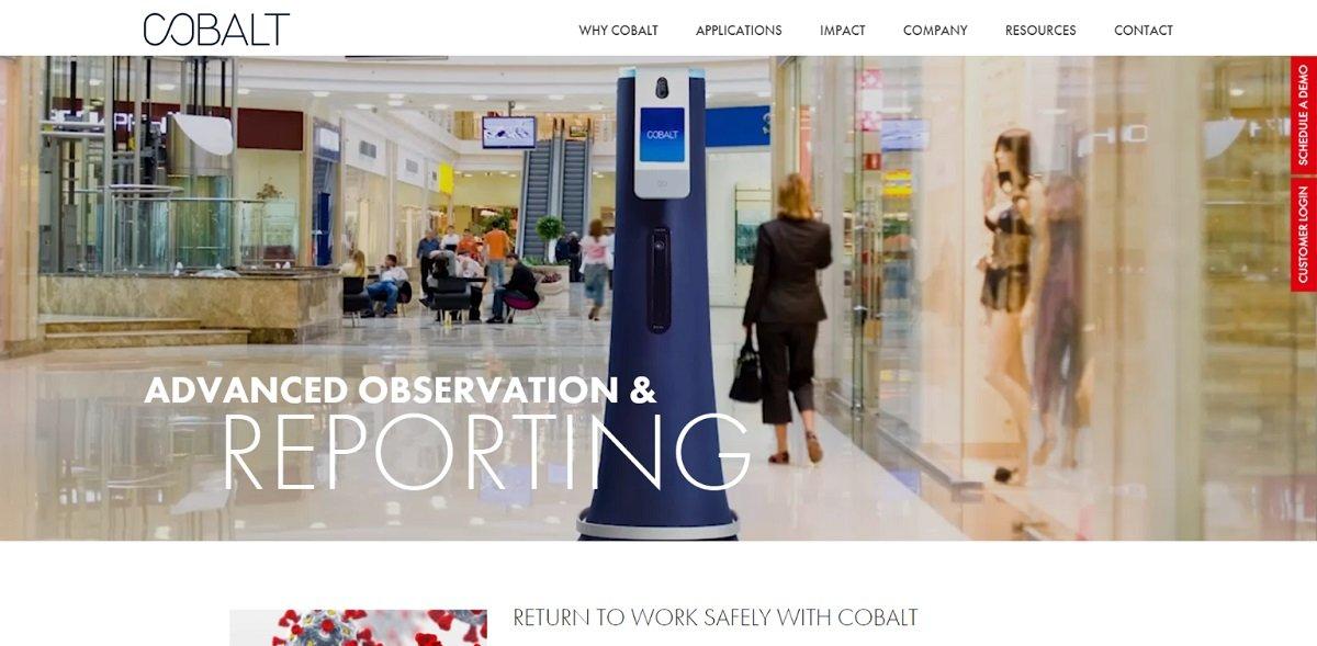 Cobalt Robotics best b2b websites