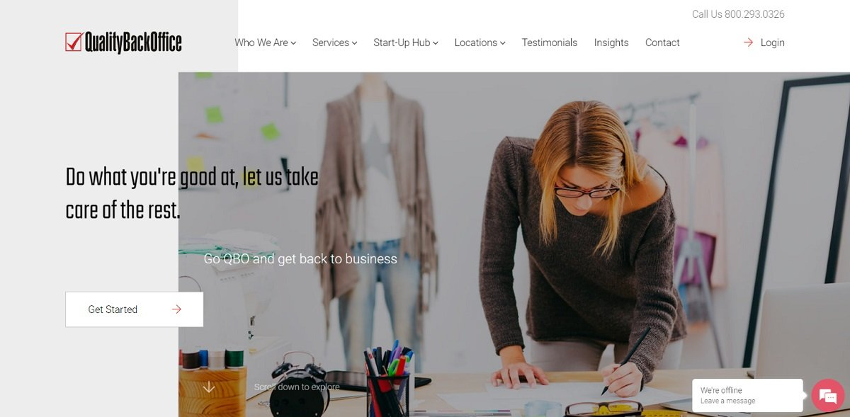 Quality Back Office best b2b websites