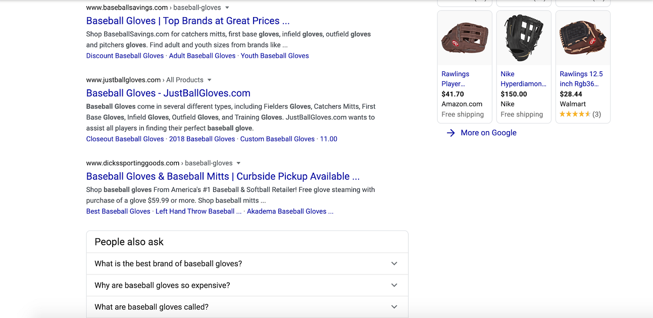Related questions for search results