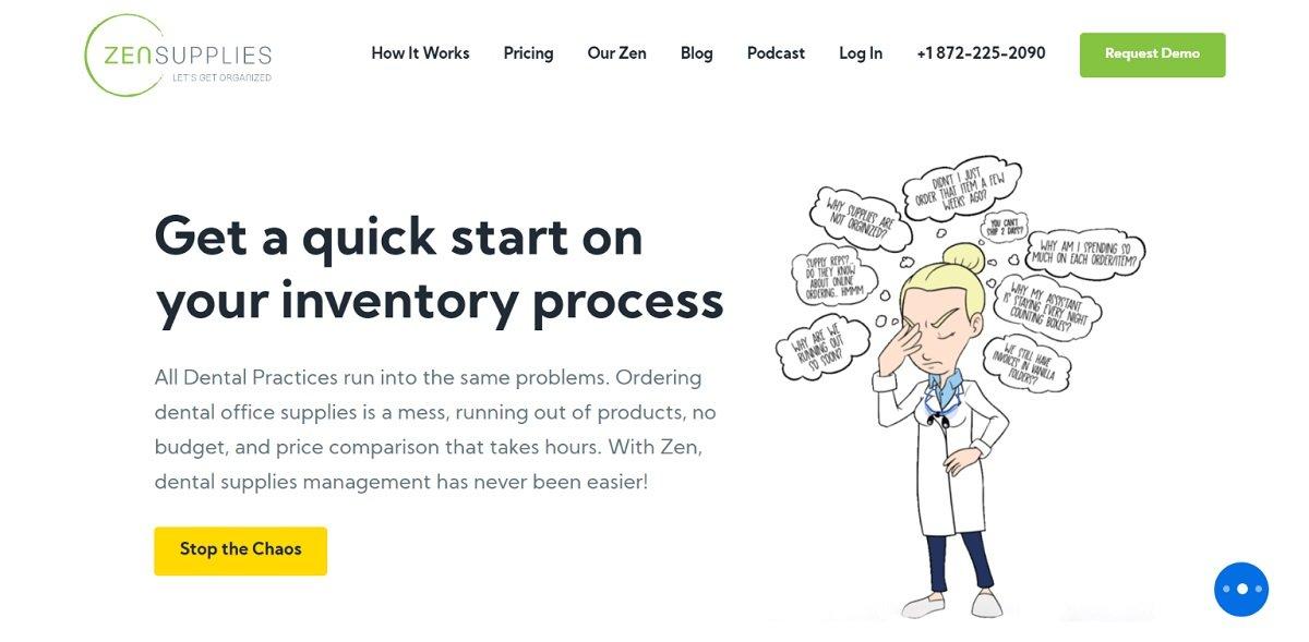Zen Supplies best b2b websites