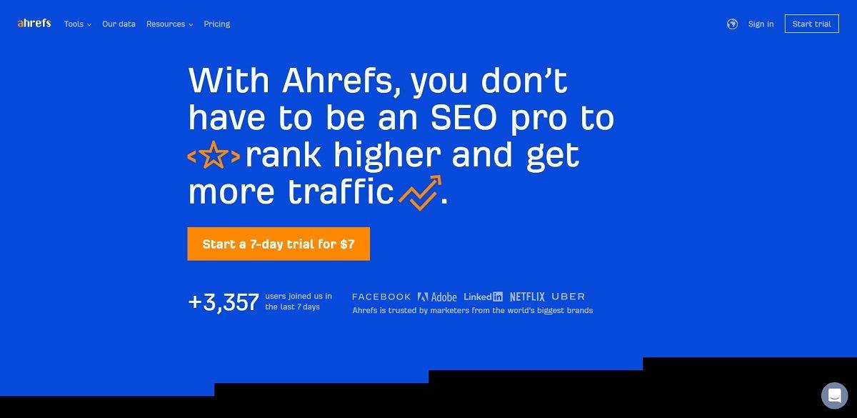 ahrefs digital marketing tool