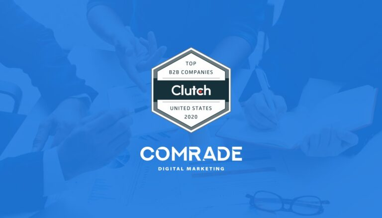 Comrade Web Agency Named Leading B2B Company in Prestigious Clutch Ranking