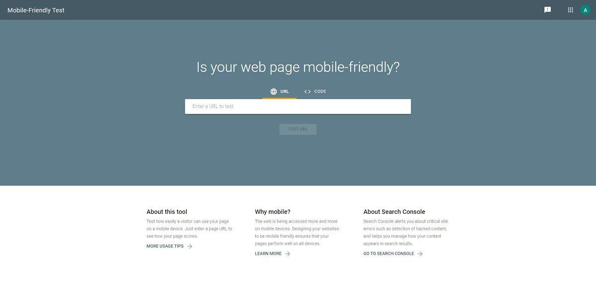 Google Mobile-Friendly Test digital marketing tool
