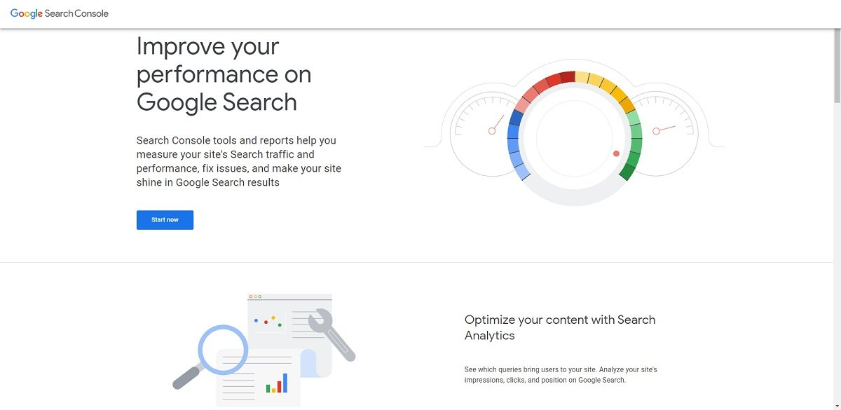 Google Search Console digital marketing tool