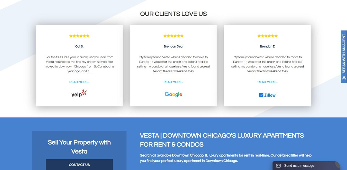 Clients Reviews Real Estate Agency