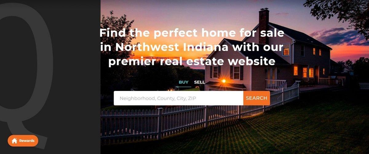 quadwalls homepage real estate