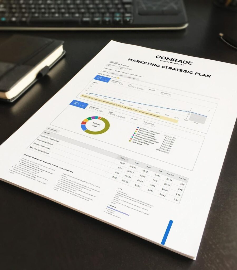 Comrade Web Agency Marketing Strategy Plan