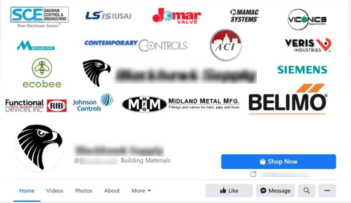 hvac facebook page