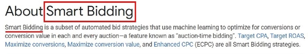 ppc ads smart bidding strategies